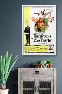 POSTER-THE-BIRDS-CUADRO-PARED