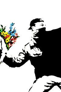 banksy-flower-thrower-DETALLE