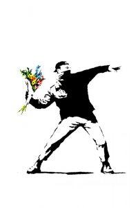 banksy-flower-thrower-PORTADA